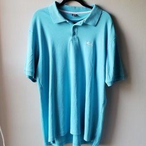 Oakley Men's Sky Blue Classic Polo Size XL